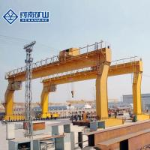 China L Type Overhead Gantry Crane , Open Ground Harbor Freight Gantry Crane on sale
