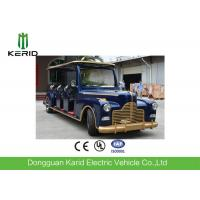 Long Wheelbase Spacious Passenger Cabin Electric Vintage Cars With 11 VIP Seats Manufactures