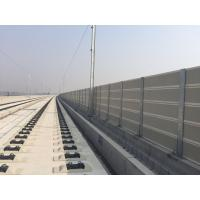 Weather Resistance Highway Sound Barrier Walls , Motorway Noise Barriers Manufactures