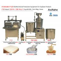 Buy cheap CE certificated customized Automatic tofu production line Small Scale Tofu from wholesalers