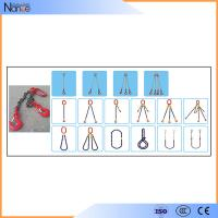 OEM Polyester Sling With Hooks 2 Limbs Lifting Chain Slings Manufactures