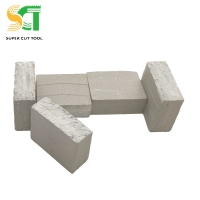 China SCT tools hig efficiency Best Price Stone Cutting Segments For Hard Stones cutting on sale
