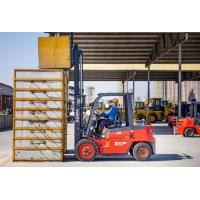 3 Ton Diesel Forklift Truck With Japanese Isuzu Engine 145mm Free Lifting Height Manufactures