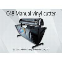 China Maual LED C48 Digital Cutting Plotter Machine 1300mm Easy Operation on sale