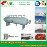 Mining industry electrical water boiler mud drum ISO9001 Manufactures