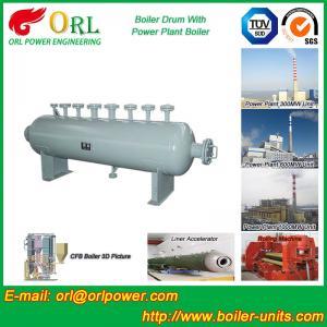 China Mining Industry Electrical Water Boiler Mud Drum ISO9001 ASME / EN Passed on sale