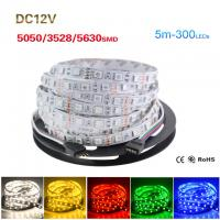 5M Roll 5050 5630 3528 SMD ip65/non waterproof Flexible LED Strip Light Manufactures