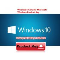Microsoft Windows Product Key Sticker , Windows 10 Pro 32 / 64 Key ESD Multilanguage Manufactures