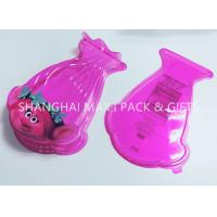 Food Grade Pink Cotton Plastic Candy Containers For Party Favors Customized Special Shaped Manufactures