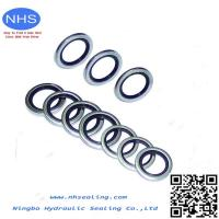 China Thread Seals Bonded Seals Dowty Seal Rubber Bonded Metal Seal on sale