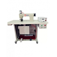 China 20khz Sewing Machine with rotray horn for continuous fabric/ PU/ Non-woven welding on sale