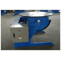 China Rotary Automatic Small Welding Positioner Turntable 600kg 0 - 120° Can Tilting on sale