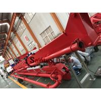 Top! 29m 33m Stationary Hydraulic Auto Lifting Concrete Placing Boom Distributor Manufactures