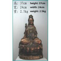 Quality bronze craft Guan Yin for sale