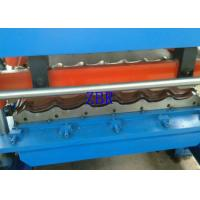 Concrete Roof Tile Making Machine Hydraulic Cutting Roll Forming Lines For Construction Manufactures