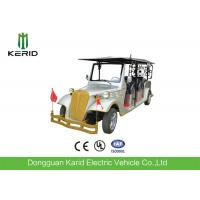 Hotel Vintage Electric Tour Bus , Resort 8 Seater Electric Car CE UL Certificate Manufactures