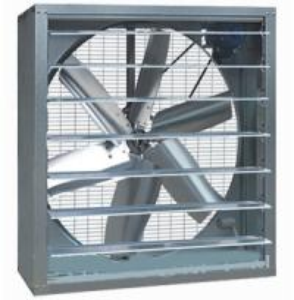 China wall mounted metal belt driven exhaust fan on sale