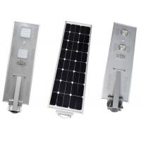 China Motion Sensor Solar LED Street Light 50w Waterproof IP66 Corrosion Resistance on sale