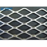 Expanded Diamond Perforated Construction Wire Mesh Enduring Custom Surface Treatment for sale