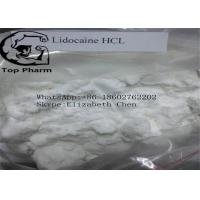 Lidocaine Hydrochloride CAS 73-78-9 Pain Reliever Drug Pharmaceutical Raw Materials Manufactures