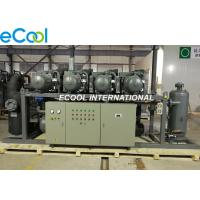 360 HP Compressor Unit High Temp ,Rerigeration Rack With PLC  Touch Screen Manufactures