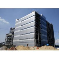 Quality High Rise Steel Frame Office Building , Prefab Commercial Buildings Bolts Connection for sale