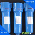 BOCIN OEM Flange Fuel Gas Filters Separator , 0.003 Microns Particle Filtration Manufactures