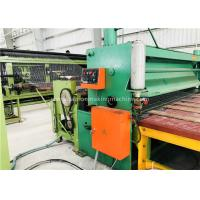 Green Gabion Wire Mesh Machine 5300mm Max. Netting Width For Slope Revetment Manufactures