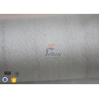 Quality Heat Resistant Satin Weave E Glass Fiberglass Fabric 3784 850g High Strength for sale