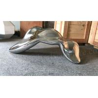 Mirror Metal Garden Sculptures Abstract Statue Design As Building Indoor Ornament Manufactures