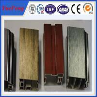 Supply surface drawing anodized aluminum extrusion, anodising aluminium alloy price Manufactures