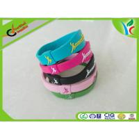 Soft Non-Toxic Silicone Energy Bracelet Colorful Comfortable For Gift Manufactures