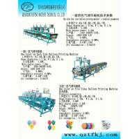China Latex balloons promotional balloons printing machine on sale