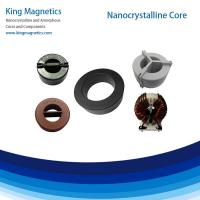 China high frequency inverter welding transformer inductor toroidal ferrite amorphous core on sale