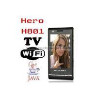 HERO H801 WIFI JAVA Quad band Dual SIM Cards TV Cell Phone Manufactures