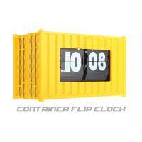 China Container Flip Clock Hour and minute flip clock in retro style on sale
