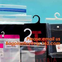 China HANGER HOOK BAGS,GARMENT BOTTON CLOSURE BAGS, EVA FROST DRAWSTRING BAGS, VINYL HANGER HOOK BAG GARMENT LAUNRY BAGS BAGEA on sale