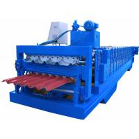 PPGI Sheet Cold Roll Forming Equipment Japan Panasonic PLC Controller High Efficiency Manufactures