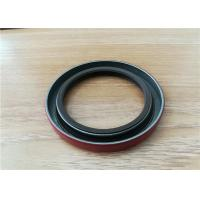 OEM Auto FKM Rubber Double Lip Spring Oil Seal , Silicone Gearbox Rotary Spring Oil Seal Manufactures