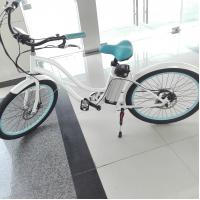 China 36V Womens Electric Bike Front / Rear Tektro Disc Brake 0 - 45KM Range on sale