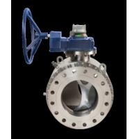 ASME B16.34 API 6D Trunnion Mounted Ball Valves 2 NPS - 24 NPS ISO 9001 Manufactures
