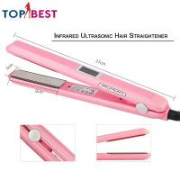 Ultrasonic Infrared Hair Care Iron Home Beauty Machine With Adjustable Upgraded LCD Display Manufactures