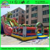 Cheap Kids Inflatable Amusement Park Customized Giant Inflatable Amusement Park Inflatable Fun City Manufactures