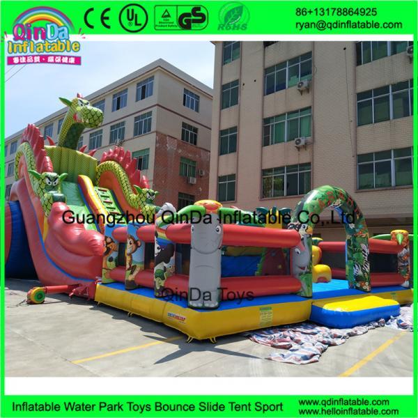 Quality Cheap Kids Inflatable Amusement Park Customized Giant Inflatable Amusement Park Inflatable Fun City for sale