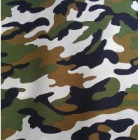 Polyester / Cotton Material and Make-to-Order Supply Type fabric with military print Manufactures