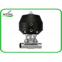 China Hygiene Degree Straight  Sanitary Diaphragm Valve For Dairy Beer Chemical on sale