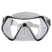 One Piece Lens Scuba Diving Mask For Adult With Silicone Strap , CE Passed Manufactures
