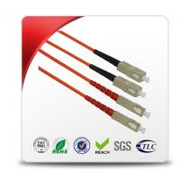 Quality 0.9mm - 3.0mm Diameter LC To SC Single Mode Fiber Patch Cable Easy To Use for sale
