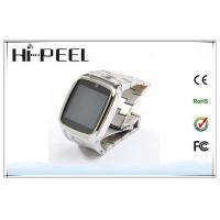 Fashion Bluetooth GPRS Wrist Watch Cell Phone , Smart Hand Watch Phone Manufactures