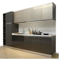China Kitchen Wood Cabinets Kitchen Furniture Sets Cabinet Modern Style For Hotel on sale